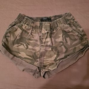 Factorie XS Camouflage Relaxed Shorts   Camouflage Sexy Shorts   Army Sexy Short